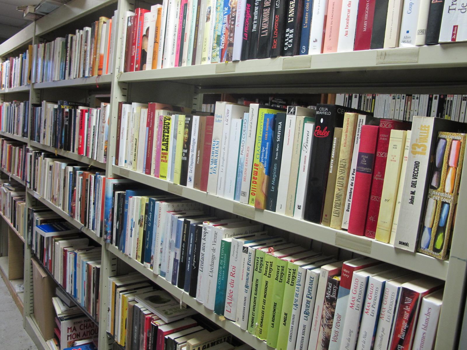 Grand choix de livres